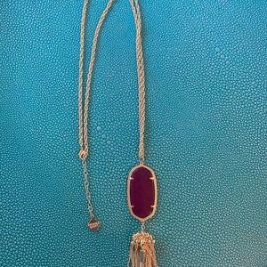 Long Kendra Scott necklace